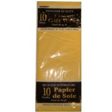 Yellow Tissue Paper 10 Sheet Pack